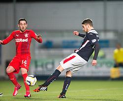Falkirk's Luke Leahy. Falkirk 1 v 1 Rangers, Scottish Championship game played 27/2/2014 at The Falkirk Stadium .