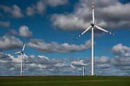 Farma wiatrowa w Topoczykałach na Podlasiu