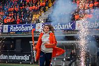 Den Bosch - Rabo fandag 2019 . hockey clinics met de spelers van het Nederlandse team. opkomst van international Pien Sanders  (Ned) .   COPYRIGHT KOEN SUYK