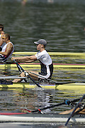 Poznan, POLAND.  2006, FISA, Rowing World cup, GBR M1X, Alex GREGORY, move away from the start pontoon at the   'Malta Regatta course;  Poznan POLAND, Fri. 16.06.2006. © Peter Spurrier   ....[Mandatory Credit Peter Spurrier/ Intersport Images] Rowing Course:Malta Rowing Course, Poznan, POLAND