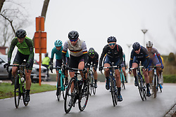 Lisa Klein (GER) in the break at Driedaagse Brugge - De Panne 2018 - a 151.7 km road race from Brugge to De Panne on March 22, 2018. Photo by Sean Robinson/Velofocus.com