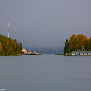Round Lake In Charlevoix Michigan