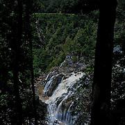 Kuranda Tour in Cairns surroundings. Kuranda is a village in the rainforest. The Barron Falls.