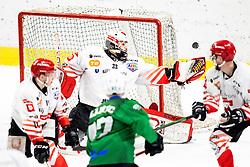 Zan Us of HDD SIJ Acroni Jesenice during ice hockey match between HK SZ Olimpija and HDD SIJ Acroni Jesenice in fifth game of Final at Slovenian National League, on May 10, 2021 in Hala Tivoli, Ljubljana, Slovenia. Photo by Matic Klansek Velej / Sportida
