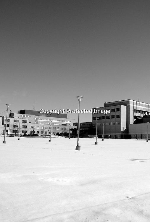 Closed Peel Memorial Hospital in Brampton, ON.