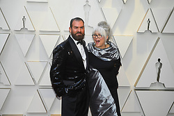 February 24, 2019 - Los Angeles, California, U.S - MARC PILCHER AND JENNY SHIRCORE during red carpet arrivals for the 91st Academy Awards, presented by the Academy of Motion Picture Arts and Sciences (AMPAS), at the Dolby Theatre in Hollywood. (Credit Image: © Kevin Sullivan via ZUMA Wire)