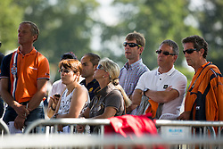 Team KWPN<br /> Gert Van den Hoorn, Wim Ernes, Johan Hamminga, ....<br /> FEI World Dressage Championships for Young Horses<br /> Internationales Dressur- und Springfestival - Verden 2014<br /> © Dirk Caremans