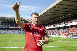 March 30, 2019 - Edinburgh, Scotland, United Kingdom - Peter O'Mahony of Munster celebrates during the Heineken Champions Cup Quarter Final match between Edinburgh Rugby and Munster Rugby at Murrayfield Stadium in Edinburgh, Scotland, United Kingdom on March 30, 2019  (Credit Image: © Andrew Surma/NurPhoto via ZUMA Press)