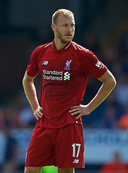BURY, ENGLAND - Saturday, July 14, 2018: Liverpool's Ragnar Klavan during a preseason friendly match between Bury FC and Liverpool FC at Gigg Lane. (Pic by Paul Greenwood/Propaganda)