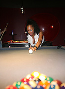 Milani Rose at ' The Real Chill Town' presented KING Magazine & Budweiser hosted by King Web Girl of the Year Milani Rose