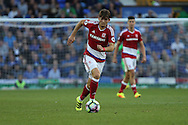 Marten de Roon of Middlesbrough in action. Premier league match, Everton v Middlesbrough at Goodison Park in Liverpool, Merseyside on Saturday 17th September 2016.<br /> pic by Chris Stading, Andrew Orchard sports photography.