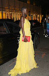 September 6, 2019, New York, New York, United States: September 5, 2019 New York City....Adut Akech attending The Daily Front Row Fashion Media Awards on September 5, 2019 in New York City  (Credit Image: © Jo Robins/Ace Pictures via ZUMA Press)