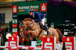 RÖMMER Falk (GER), San Chano<br /> Leipzig - Partner Pferd 2018<br /> Einlaufprüfung Partner Pferd Cup<br /> © www.sportfotos-lafrentz.de/Stefan Lafrentz