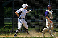 Macungie Grizzlies play Macungie Diamondbacks during a game in the Lehigh Valley Baseball League on July 19, 2020, at Earl Adams Memorial Park in Breinigsville, Pennsylvania. (Photo by Matt Smith)