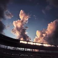 iPhone Instagram of Target Field in Minneapolis, Minnesota on June 20, 2014