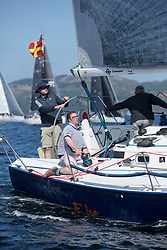 Silvers Marine Scottish Series 2017<br /> Tarbert Loch Fyne - Sailing<br /> <br /> IRL29213, Something Else, Hall/McDonnell, National YC, J109<br /> <br /> Credit Marc Turner / PFM