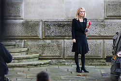 © Licensed to London News Pictures. 13/11/2018. London, UK. Secretary of State for Work and Pensions Esther McVey arrives on Downing Street for the Cabinet meeting. Photo credit: Rob Pinney/LNP