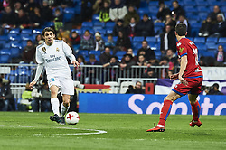 January 10, 2018 - Madrid, Madrid, Spain - Mateo Kovacic (midfielder; Real Madrid) during Copa del Rey match between Real Madrid and Numancia, Round 8 match, at Santiago Bernabeu on January 10, 2018 in Madrid (Credit Image: © Jack Abuin via ZUMA Wire)
