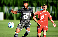 Fotball , 10. mars 2019 , Privatkamp , Brann - Rosenborg 1-0<br /> Taijo Teniste , Brann<br /> Samuel Adegbenro, RBK
