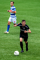 Joeri de Caes of VV Maarssen in action. First friendly match after the Corona outbreak. VV Maarssen lost the away match against big league Spakenburg 5-1 on 4 July 2020 in Spakenburg.
