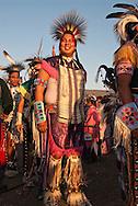 Powwow, Traditional Dancers, Crow Fair, Crow Indian Reservation, Montana