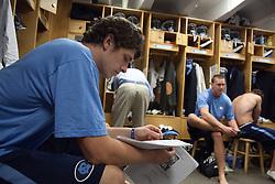 26 April 2009: North Carolina Tar Heels during a 15-13 loss to the Duke Blue Devils during the ACC Championship at Kenan Stadium in Chapel Hill, NC.