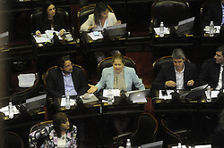 December 18, 2018 - Buenos Aires, Argentina - Deputies during an extraordinary session requested by the Executive Power on December 18, 2018 in Buenos Aires, Argentina. (Credit Image: © Gabriel Sotelo/NurPhoto via ZUMA Press)