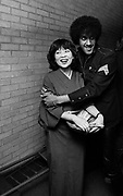 Thin Lizzy Phil Lynott and Geisha at 1979 party