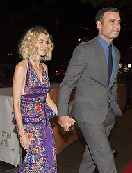 """Actress Naomi Watts, left, and Liev Schreiber arrive on the red carpet for the new movie """"The Bleeder"""" during the 2016 Toronto International Film Festival in Toronto on Saturday, September 10, 2016 ***/action press"""