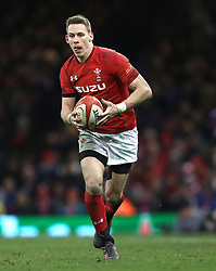 Wales' Liam Williams during the NatWest 6 Nations match at the Principality Stadium, Cardiff. PRESS ASSOCIATION Photo. Picture date: Saturday March 17, 2018. See PA story RUGBYU Wales. Photo credit should read: David Davies/PA Wire. RESTRICTIONS: Use subject to restrictions. Editorial use only. Strictly no commercial use. No use in books without prior written permission from WRU.