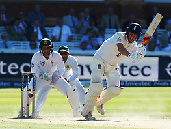 July 8, 2017 - London, United Kingdom - England's Gary Ballance .during 1st Investec Test Match Day Three between England and South Africa at Lord's Cricket Ground in London on July 08, 2017  (Credit Image: © Kieran Galvin/NurPhoto via ZUMA Press)