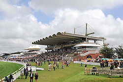 Atmosphere at the 3rd day of the 2012 Glorious Goodwood racing festival at Goodwood Racecourse, West Sussex on 2nd August 2012.