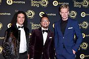 Uitreiking Gouden Televizier-Ring Gala 2018.<br /> <br /> OP de foto:  Ali B, Ronnie Flex, Jim van der Zee
