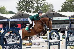 Pender Michael, IRL, Z Seven Caretina<br /> FEI World Breeding Jumping Championships for Young horses - Lanaken 2016<br /> © Hippo Foto - Dirk Caremans<br /> 18/09/16