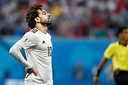 Egypt Mohamed Salah reacts during the 2018 FIFA World Cup Russia, Group A football match between Russia and Egypt on June 19, 2018 at Saint Petersburg Stadium in Saint Petersburg, Russia - Photo Stanley Gontha / Pro Shots / ProSportsImages / DPPI