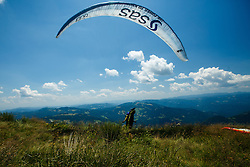 16th paraglide competition Ratitovec Open 2016, Železniki, Porezen, on 10th of July in Slovenia. Photo by Grega Valancic / Sportida
