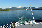 The Alaska Ferry, Wrangell Narrows, Southeast Alaska