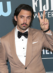25th Annual Critic's Choice Awards - Los Angeles. 12 Jan 2020 Pictured: Milo Ventimiglia. Photo credit: Jen Lowery / MEGA TheMegaAgency.com +1 888 505 6342
