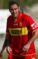 Roccaporena (PG) 31/7/2004 <br /> <br /> <br /> <br /> Ritiro precampionato FC Messina. Amichevole - Friendly Match. <br /> <br /> <br /> <br /> Messina - Selezione AIC 3-0 <br /> <br /> <br /> <br /> Nella foto: <br /> <br /> Riccardo Zampagna Messina<br /> <br /> Photo Andrea Staccioli