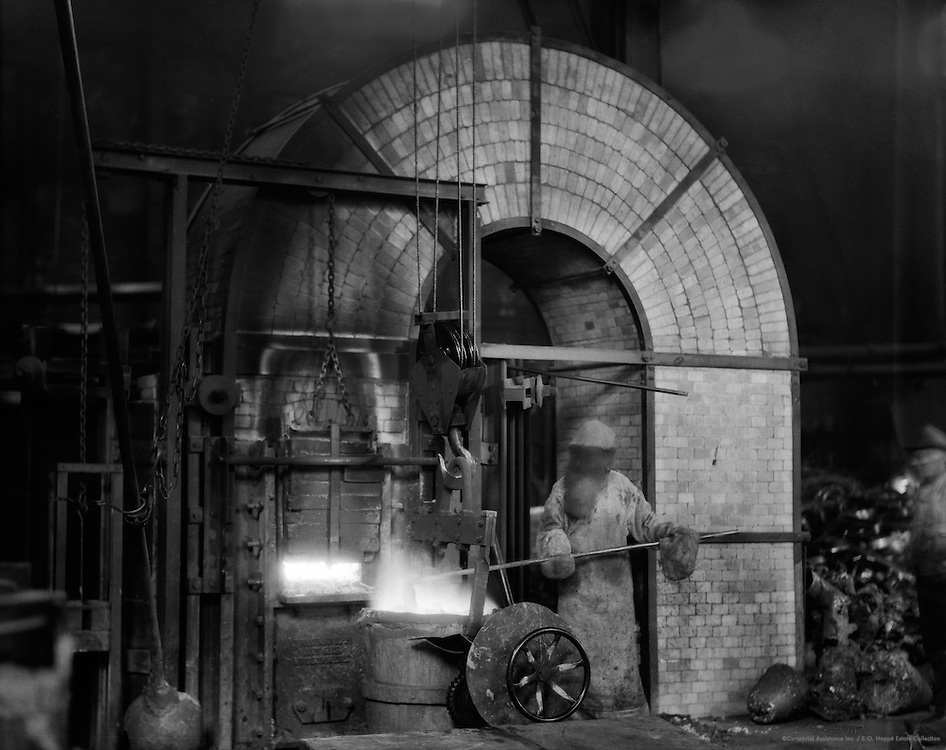Worker, Siemens-Schuckertwerke, Gartenfeld, Berlin-Spandau, 1928