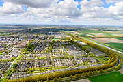 Nederland, Noord-Holland, Gemeente Haarlemmermeer, 28-04-2017; Hoofddorp, overzicht met Weg om de Noord.<br /> Overview Hoofddorp.<br /> luchtfoto (toeslag op standard tarieven);<br /> aerial photo (additional fee required);<br /> copyright foto/photo Siebe Swart