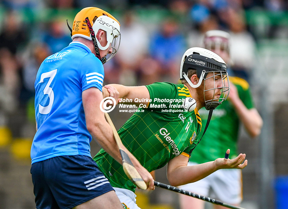 Liam Coogan,  in action for Meath,  during the Meath v Dublin,  Leinster MHC quarter-final match at Pairc Tailteann, Navan.<br /> <br /> Photo: GERRY SHANAHAN-WWW.QUIRKE.IE<br /> <br /> 14-07-2021
