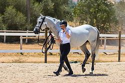 Emilie Conter, BEL, Balento C.S.<br /> FEI Jumping European Championships for Young Riders, Juniors, Children - Vilamoura 2021<br /> © Hippo Foto - Dirk Caremans<br /> 18/07/2021