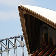 Daytime view of the Sydney Opera House