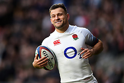November 25, 2017 - London, England, United Kingdom - England's Danny Care during Old Mutual Wealth Series between England against Samoa at Twickenham stadium , London on 25 Nov 2017  (Credit Image: © Kieran Galvin/NurPhoto via ZUMA Press)