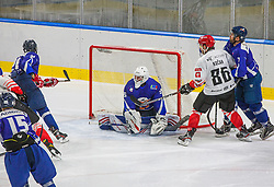 86# Kocar Timotej of HDD SIJ Acroni Jesenice during the final match of Slovenia Cup 2020/21 between HDD SIJ Acroni Jesenice and HKMK Bled, on 19.09.2020 in Ljubljana, Slovenia. Photo by Urban Meglič / Sportida