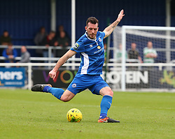 October 7, 2017 - Billericay, England, United Kingdom - Joe Ellul  of Billericay Town.during Bostik League Premier Division match between Billericay Town against Hendon FC at New Lodge Ground, Billericay on 07 Oct 2017  (Credit Image: © Kieran Galvin/NurPhoto via ZUMA Press)