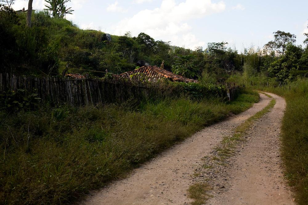 Mariana_MG, Brasil...Estrada de terra em Mariana...A dirty road in Mariana...Foto: LEO DRUMOND / NITRO.