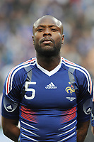 FOOTBALL - FRIENDLY GAME 2010 - FRANCE v COSTA RICA - 26/05/2010 - PHOTO FRANCK FAUGERE / DPPI - WILLIAM GALLAS (FRA)