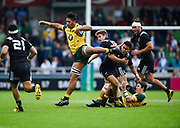 during the World Rugby U20 Championship 5rd Place play-off  match Australia U20 -V- New Zealand U20 at The AJ Bell Stadium, Salford, Greater Manchester, England on Saturday, June  25  2016.(Steve Flynn/Image of Sport)